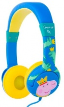 "OTL PP0361D Cuffie per Bambini ""Peppa Pig"" Jack 3.5 mm  Prince George"