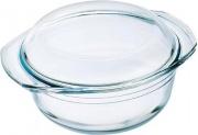 O cuisine 207AC001043 Casseruola Litri 1 Vetro temperato Trasparente