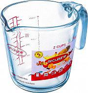 O cuisine 263BC001146 Caraffa 0.5 litri Vetro temperato