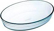 O cuisine 347B Tegame ovale in vetro temperato 39x27 cm