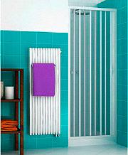 Oceano VEN8090 Box doccia 90 Cabina doccia Porta a soffietto 185 h cm Bianco Venere