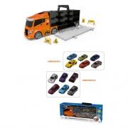 Ods 41401 Mezzo stradale Camion bisarca con 6 auto e accessori