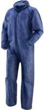 Oem 487011BLUXL Tuta Intera con cappuccio in polipropilene taglia XL colore Blu