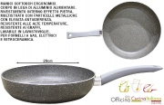 Officina Cucina Italiana I850524 Padella Sasso cm 26