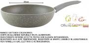Officina Cucina Italiana I850555 Padella Sasso cm 28 Saltapasta
