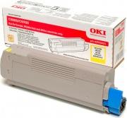 Oki 43324421 Toner Originale Laser colore Giallo per modello C5800