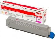 Oki 43487710 Toner Originale Laser colore Magenta per modello C8600cdtn