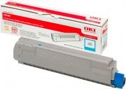 Oki 43487711 Toner Originale Laser colore Ciano per modello C8600cdtn