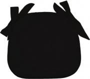 Olibò Cuscino 2201 Cuscino Sagomato con lacci Nero