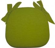 Olibò Cuscino Sagomato con lacci Verde