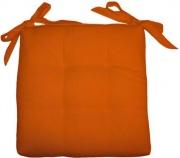 Olibò Cuscino Soft Arancio Cuscino Soft con lacci 40x40xh6 cm Arancio
