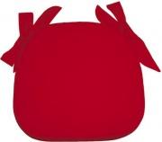 Olibò Cuscino lacci Rosso Cuscino Sagomato con lacci Rosso