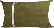 Olibò ZEUS Cuscino Arredo con cerniera 30x50 cm Ermes 08 verde