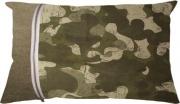 Olibò ZEUS Cuscino Arredo con cerniera 60x40 cm CamuC+iago9 verde