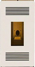 Olimpia Splendid B0691 Cover per Stufa a pellet MIA 7.5911 colore Bianco