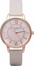 Olivia Burton OB14WD24 Orologio Donna Quadrante Analogico Cinturino in Pelle