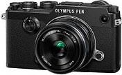 Olympus V204063BE000 Fotocamera Digitale Mirrorless 20.3 Mp Full HD Obiettivo 17 mm PEN F
