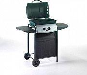Ompa Grill Barbecue BBQ a Gas Pietra lavica Giardino 4935CR Ecolava Black-line