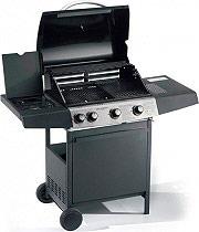 Ompa Grill Barbecue BBQ a Gas Giardino Fornello laterale Gas Expert 4 Eco Plus