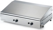 Ompagrill 4068COVERM Bistecchiera a Gas in Ghisa Barbecue Doppia Piastra 70x40