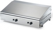 Ompagrill 4071COVERM Bistecchiera a Gas in Ghisa Barbecue Doppia Piastra 70x40