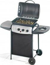Ompagrill Barbecue BBQ a Gas Pietra lavica griglia fornello 4938CR Ecolava Plus