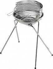 Ompagrill 70480 Barbecue Carbonella in Acciaio Cromato e regolazione Aria