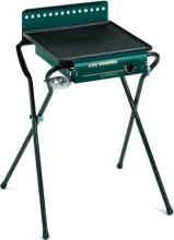 Ompagrill GAS4043GHIV Barbecue a Gas Piastra in Ghisa BBQ Giardino 43x40x74 h - GAS 4043 GHIV