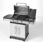 Ompagrill INDIANAPOLIS 4 TITANIUM Barbecue a Gas BBQ a Gas Coperchio 3kW 2.5kW