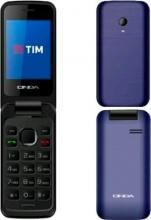 """Onda 775834 Telefono Cellulare a Conchiglia 2.4"""" Fotocamera Radio colore Blu"""