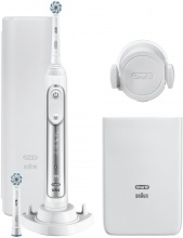 Oral B 80326257 Spazzolino Elettrico Argento Genius 8600 Bianco Oral-B