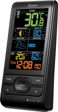 Oregon Scientific BAR208SX Stazione Meteo Wireless Meteorologica Orologio Nero