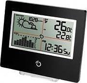 Oregon Scientific Termometro Digitale Ambientale Previsioni Meteo Nero BAR801