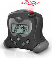 Oregon Scientific RM313PNF_BK Orologio Sveglia con proiezione ora