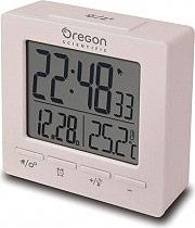 Oregon Scientific Sveglia digitale Doppio allarme Snooze Calendario Bianco RM511