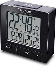 Oregon Scientific RM511 Sveglia digitale Doppio allarme Snooze Calendario Nero