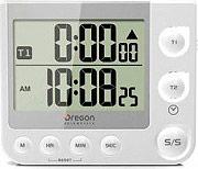 Oregon Scientific Orologio Sveglia Digitale Snooze allarme doppio TW331-W