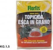 Orvital 1331170 Topicida Esca in Grano Kg 1.5