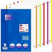 Oxford 400108158 Ricambi 5 Colori 80 Fogli A4 90Gr 5 mm