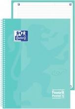 Oxford 400115567 Confezione 5 Maxi Spiralato Pastel1 A4 1R Azz