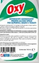 Oxy 1411007120750ME Detergente igienizzante OXY confezione 12 pz