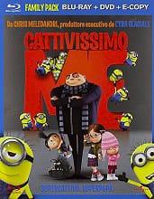 PARAMOUNT CATTIVISSIMO ME BRAY Cattivissimo Me (Blu-Ray+Dvd)