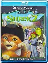 PARAMOUNT Shrek 2 Film Blu-Ray 3D