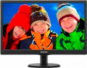 "PHILIPS 193V5LSB2 Monitor Display 18.5"" LED Wide HD Ready VGA Vesa Nero VLine"