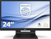 PHILIPS 242B9T00 Monitor PC 23.8 Pollici  HDMI VGA