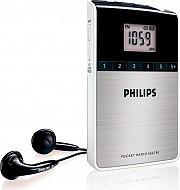 PHILIPS Radio Portatile Digitale Radiolina Tascabile AE6790