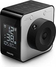 PHILIPS Radiosveglia Digitale Orologio Radio FM Funzione snooze allarme AJ4800