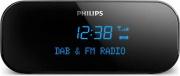 PHILIPS AJB300012 Radiosveglia Digitale Analogico Radio DAB+ Potenza 1W Nero