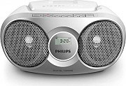 PHILIPS Radio Stereo Portatile Boombox Lettore CD AUX Radio FM 3W AZ215S12