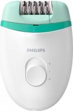 PHILIPS BRE22400 Epilatore Donna Elettrico Compatto 2 Velocità Bianco